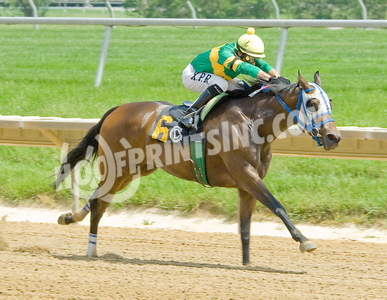 Miss Ravalo winning at Delaware Park on 5/23/12