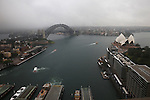 Netball World Cup Sydney 2015 brand launch at AMP Tower. Sydney, Australia. Tuesday 12th November, 2013. (Photo Steve Christo)