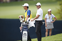 Rory McIlroy (NIR) waits to his  his second shot on the 8th hole during the 1st round of the 100th PGA Championship at Bellerive Country Club, St. Louis, Missouri, USA. 8/9/2018.<br /> Picture: Golffile.ie | Brian Spurlock<br /> <br /> All photo usage must carry mandatory copyright credit (© Golffile | Brian Spurlock)