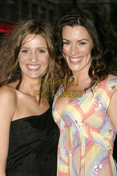 "BEATRIZ BARTARDA & KATE MAGOWAN.UK Film Premiere of ""It's Alll Gone Pete Tong"",.Empire Leicester Square, London, .May 26th 2005..half length rainbow stars matthew Williamson top multi-coloured black dress.Ref: AH.www.capitalpictures.com.sales@capitalpictures.com.©Adam Houghton/Capital Pictures."