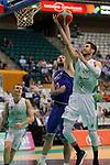 Basketball Champions League 2017/18 - Previus.<br /> Divina Seguros Joventut vs Dinamo Tbilisi: 86-66.<br /> Mikhail Berishvili vs Sergi Vidal.
