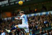 Blackburn Rovers' Joe Rothwell tries to keep the ball in play<br /> <br /> Photographer Alex Dodd/CameraSport<br /> <br /> The EFL Sky Bet Championship - Blackburn Rovers v Queens Park Rangers - Saturday 3rd November 2018 - Ewood Park - Blackburn<br /> <br /> World Copyright &copy; 2018 CameraSport. All rights reserved. 43 Linden Ave. Countesthorpe. Leicester. England. LE8 5PG - Tel: +44 (0) 116 277 4147 - admin@camerasport.com - www.camerasport.com