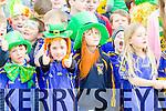 Deborah O'Connor Donnacha Enright from Ballymac GAA club at Tralee Saint Patrick's day parade on Tuesday.