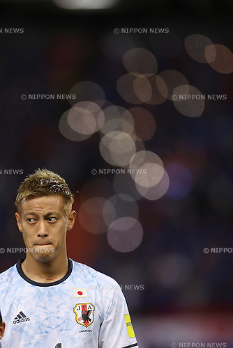 Keisuke Honda (JPN),<br /> SEPTEMBER 6, 2016 - Football / Soccer :<br /> Keisuke Honda of Japan before the FIFA World Cup Russia 2018 Asian Qualifiers Final Round Group B match between Thailand 0-2 Japan at Rajamangala National Stadium in Bangkok, Japan. (Photo by Kenzaburo Matsuoka/AFLO)