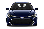 Car photography straight front view of a 2019 Toyota Corolla Touring Sports Premium 5 Door Wagon
