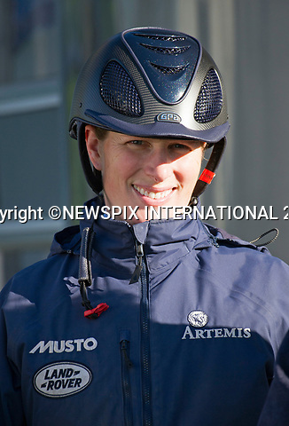 25.03.2017; Gatcombe, UK: ZARA TINDALL<br /> at the Gatcombe Horse Trials.<br /> The 2-day horse trials are held on Princess Anne&rsquo;s estate in Minchinhampton, Gloucestershire<br /> Mandatory Photo Credit: &copy;Francis Dias/NEWSPIX INTERNATIONAL<br /> <br /> IMMEDIATE CONFIRMATION OF USAGE REQUIRED:<br /> Newspix International, 31 Chinnery Hill, Bishop's Stortford, ENGLAND CM23 3PS<br /> Tel:+441279 324672  ; Fax: +441279656877<br /> Mobile:  07775681153<br /> e-mail: info@newspixinternational.co.uk<br /> Usage Implies Acceptance of OUr Terms &amp; Conditions<br /> Please refer to usage terms. All Fees Payable To Newspix International