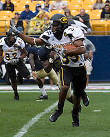 08 September 2007: Grambling wide receiver Kiare Thompson..The Pitt Panthers defeated the Grambling State Tigers 34-10 on September 08, 2007 at Heinz Field, Pittsburgh, Pennsylvania.