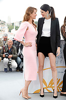 Mariana Ximenes and Luiza Mariani attend the photocall for 'The Great Mystical Circus (O Grande Circo Mistico)' during the 71st annual Cannes Film Festival at Palais des Festivals on May 14, 2018 in Cannes, France.<br /> CAP/GOL<br /> &copy;GOL/Capital Pictures