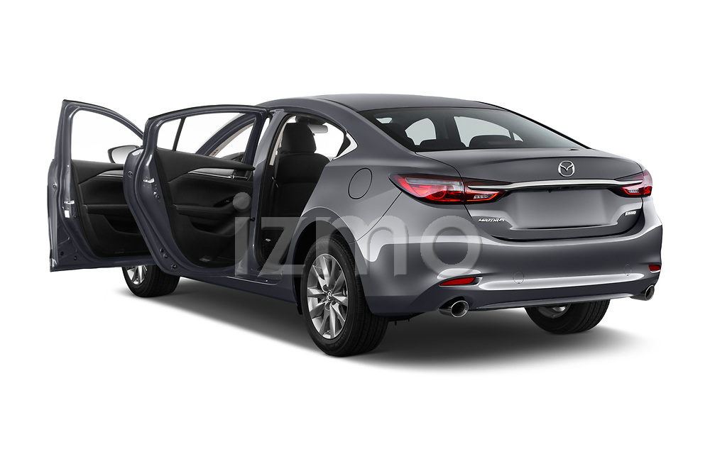Car images close up view of a 2019 Mazda Mazda6 Sport 4 Door Sedan doors