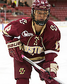 Kenzie Kent (BC - 12) - The visiting Boston College Eagles defeated the Harvard University Crimson 2-0 on Tuesday, January 19, 2016, at Bright-Landry Hockey Center in Boston, Massachusetts.