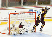 Megan Miller (BC - 32), Katie Wilson (UMD - 9) -  - The visiting University of Minnesota Duluth Bulldogs defeated the Boston College Eagles 3-2 on Thursday, October 25, 2012, at Kelley Rink in Conte Forum in Chestnut Hill, Massachusetts.
