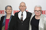 Anne Fausto-Sterling, Bob Balaban and Paula Vogel attends the Broadway Opening Night Performance of  'Indecent' at The Cort Theatre on April 18, 2017 in New York City.