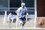 14 February 2015: North Carolina's Drew Hays. The University of North Carolina Tar Heels hosted the University of Massachusetts Minutemen in a 2015 NCAA Division I Men's Lacrosse match. UNC won the game 20-8.