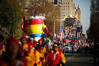 Revellers take part during the 89th Macy's Thanksgiving Annual Day Parade in the Manhattan borough of New York.  11/26/2015. Eduardo MunozAlvarez/VIEWpress