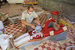 Making Statue At Wat Bo