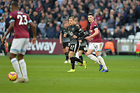 Declan Rice Of West Ham United during West Ham United vs Burnley, Premier League Football at The London Stadium on 3rd November 2018