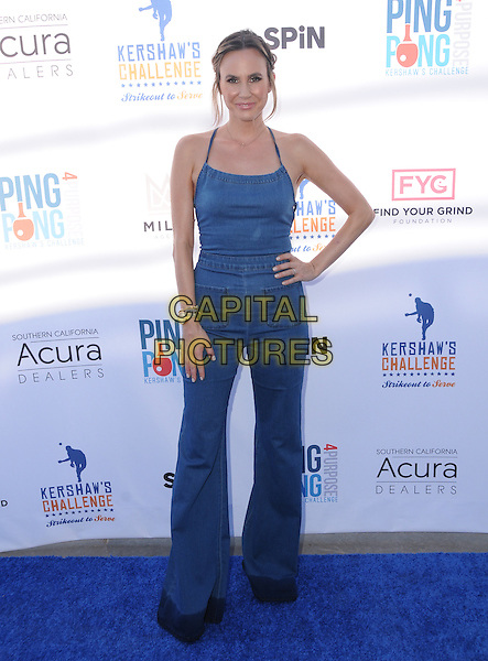 11 August 2016 - Los Angeles, California. Keltie Knight. Clayton Kershaw's 4th Annual Ping Pong 4 Purpose Celebrity Tournament held at Dodger Stadium. <br /> CAP/ADM/BT<br /> &copy;BT/ADM/Capital Pictures