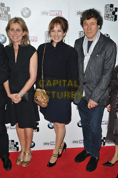 LONDON, ENGLAND - JUNE 07: guest, Katherine Parkinson &amp;  Stephen Rea attend the South Bank Sky Arts Awards 2015, The Savoy Hotel, The Strand, on Sunday June 07, 2015 in London, England, UK. <br /> CAP/CAN<br /> &copy;CAN/Capital Pictures