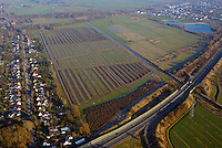 Entwaesserung Allermoehe: DEUTSCHLAND, HAMBURG 15.04.2014: Entwaesserung Allermoehe, Neubau der Graben Entwaesserung oestlich des Mittleren Landweg