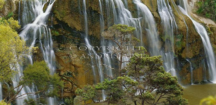 Waihi Falls Scenic Reserve. Hawkes Bay Region. New Zealand