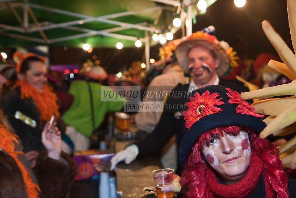 Europe/France/Nord-Pas-de-Calais/59/Nord/Dunkerque: La Bande de Rosendael au Carnaval de Dunkerque