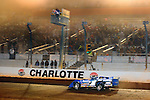 Nov 06, 2009; 12:39:05 AM; Concord, NC, USA; The Topless Showdown presented by Hungry-Man features the cars and stars of the World of Outlaws Late Model Series competing at The Dirt Track @ Lowe's Motor Speedway.  Mandatory Credit: (thesportswire.net)