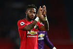 Fred of Manchester United applauds the fans during the Premier League match at Old Trafford, Manchester. Picture date: 1st December 2019. Picture credit should read: Phil Oldham/Sportimage