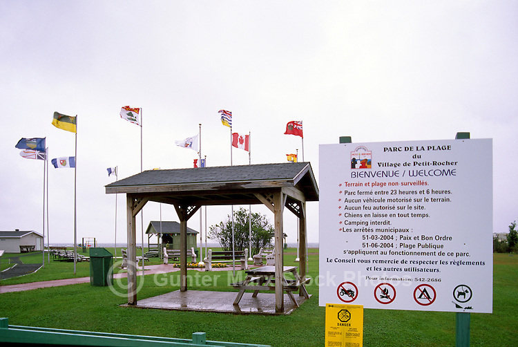 Petit-Rocher, NB, New Brunswick, Canada - Parc de la Plage (Beach Park)