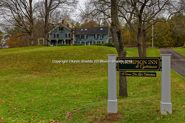 Thompson House Inn, Durham, New Hampshire, USA