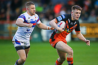 Picture by Alex Whitehead/SWpix.com - 27/04/2018 - Rugby League - Betfred Super League - Castleford Tigers v Wakefield Trinity - Mend-A-Hose Jungle, Castleford, England - Castleford's Jake Trueman.