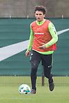 14.04.2018, Trainingsgelaende, Bremen, GER, 1.FBL, Training SV Werder Bremen<br /> <br /> im Bild<br /> Milos Veljkovic (Werder Bremen #13), <br /> <br /> Foto &copy; nordphoto / Ewert