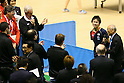 (L to R) Craig Reedie, Koki Niwa, MARCH 5, 2013 : Japanese Table Tennis Player Koki Niwa Speeachs for International Olympic Committee Vice President Craig Reedie Tokyo Metropolitan Gymnasium, Tokyo, Japan. The IOC evaluation commission, led by Reedie, began a four-day inspection of Tokyo's bid to host the 2020 Olympics. (Photo by Yusuke Nakanishi/AFLO SPORT)