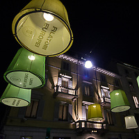 Il FuoriSalone 2010 nelle vie di centrali Milano, Via Montenapoleone