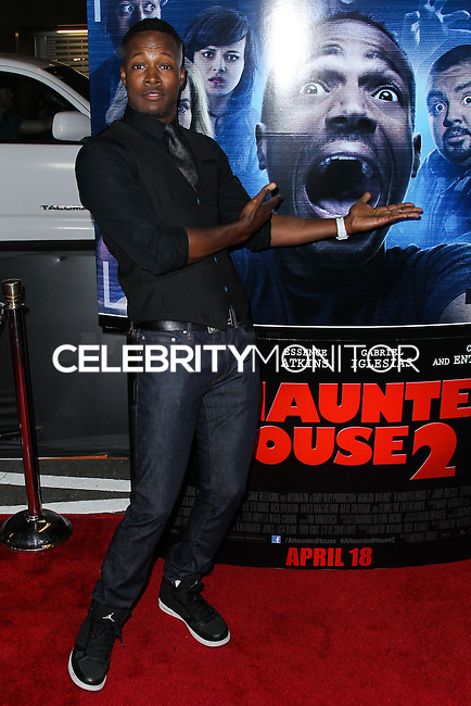 """LOS ANGELES, CA, USA - APRIL 16: Flex Alexander at the Los Angeles Premiere Of Open Road Films' """"A Haunted House 2"""" held at Regal Cinemas L.A. Live on April 16, 2014 in Los Angeles, California, United States. (Photo by Xavier Collin/Celebrity Monitor)"""