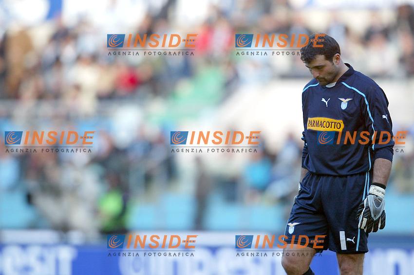 Roma 11/1/2004 <br /> Lazio Brescia 0-1 <br /> Angelo Peruzzi (Lazio)<br /> Photo Andrea Staccioli Insidefoto