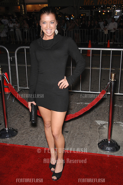 """PARVATI SHALLOW - from Survivor: Cook Islands - at the Los Angeles premiere of """"Babel""""..November 5, 2006  Los Angeles, CA.Picture: Paul Smith / Featureflash"""