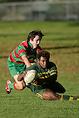 S. Lutumailaqi scores one of Pukekohe's 5 tries. Counties Manukau Premier Club Rugby, Pukekohe v Waiuku  played at the Colin Lawrie field, on the 3rd of 2006.Pukekohe won 36 - 14
