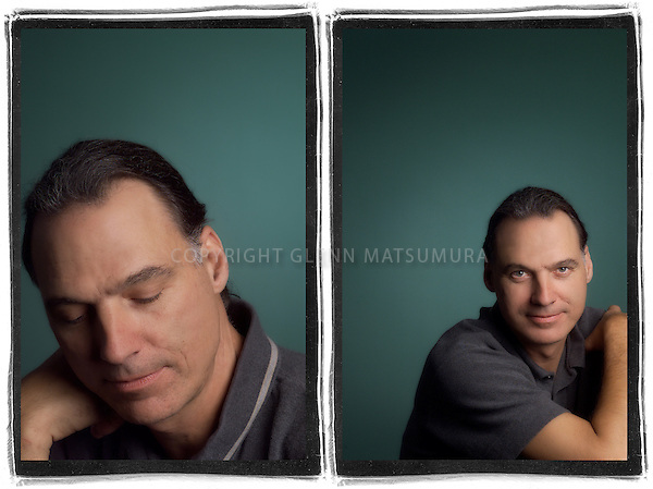 Henrik Kam portrait. Commercial photographer.