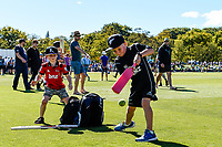 Fans on the oval during Day 2 of the Second International Cricket Test match, New Zealand V England, Hagley Oval, Christchurch, New Zealand, 31th March 2018.Copyright photo: John Davidson / www.photosport.nz