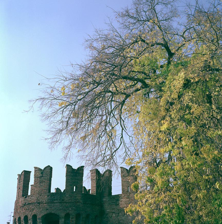 The Rocca Sanvitale in Fontanellato, near Parma, ITALY