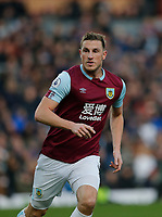 30th November 2019; Turf Moor, Burnley, Lanchashire, England; English Premier League Football, Burnley versus Crystal Palace; Chris Wood of Burnley - Strictly Editorial Use Only. No use with unauthorized audio, video, data, fixture lists, club/league logos or 'live' services. Online in-match use limited to 120 images, no video emulation. No use in betting, games or single club/league/player publications