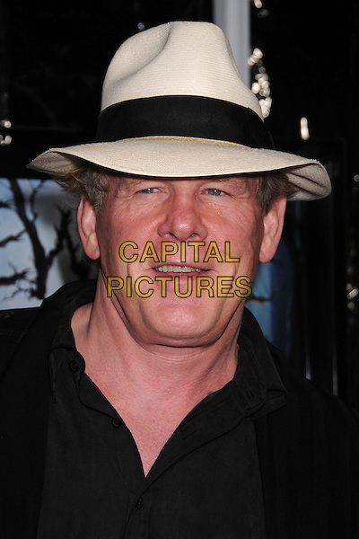 "NICK NOLTE.""The Spiderwick Chronicles"" Los Angeles Premiere at Paramount Studios, Hollywood, California, USA..January 31st, 2008.headshot portrait white hat fedora trilby.CAP/ADM/BP.©Byron Purvis/Admedia/Capital Pictures"