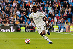 Real Madrid's Vinicius Jr. during Copa del Rey match between Real Madrid and UD Melilla at Santiago Bernabeu Stadium in Madrid, Spain. December 06, 2018. (ALTERPHOTOS/A. Perez Meca)