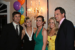 Jon & Kelley Hensley - Martha Byrne - Terri Colombino - Michael Park at the benefit Angels for Hope which benefits St. Jude Children's Research Hospital on May 29, 2009 at the Estate at Florentine Gardens, Rivervale, NJ. (Photo by Sue Coflin/Max Photos)