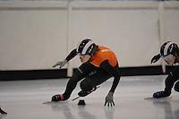 SCHAATSEN: HEERENVEEN: 31-01-2014, IJsstadion Thialf, Training Topsport, Rianne de Vries, ©foto Martin de Jong