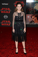 Kyla Kenedy at the world premiere for &quot;Star Wars: The Last Jedi&quot; at the Shrine Auditorium. Los Angeles, USA 09 December  2017<br /> Picture: Paul Smith/Featureflash/SilverHub 0208 004 5359 sales@silverhubmedia.com