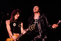 Montreal (Qc) CANADA - File Photo - Circa 1986-<br /> THE CULT in concert at Montreal's Forum.<br /> <br /> -Photo (c)  Images Distribution