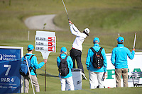 Johan Edfors (SWE) has an early charge at the leaders during Round Two of the 2015 Nordea Masters at the PGA Sweden National, Bara, Malmo, Sweden. 05/06/2015. Picture David Lloyd | www.golffile.ie