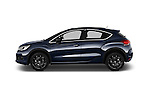 Car Driver side profile view of a 2016 Ds DS-4-Crossback Sport-Chic 5 Door Hatchback Side View