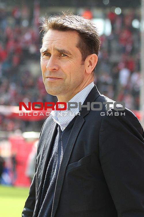 12.05.2012, Rhein Energie Stadion, Koeln, GER, 2. FBL, 1. FC Koeln vs Hertha BSC Berlin, im Bild<br /> Michael Preetz (Manager Berlin)<br /> <br /> Foto &copy; nph / Mueller